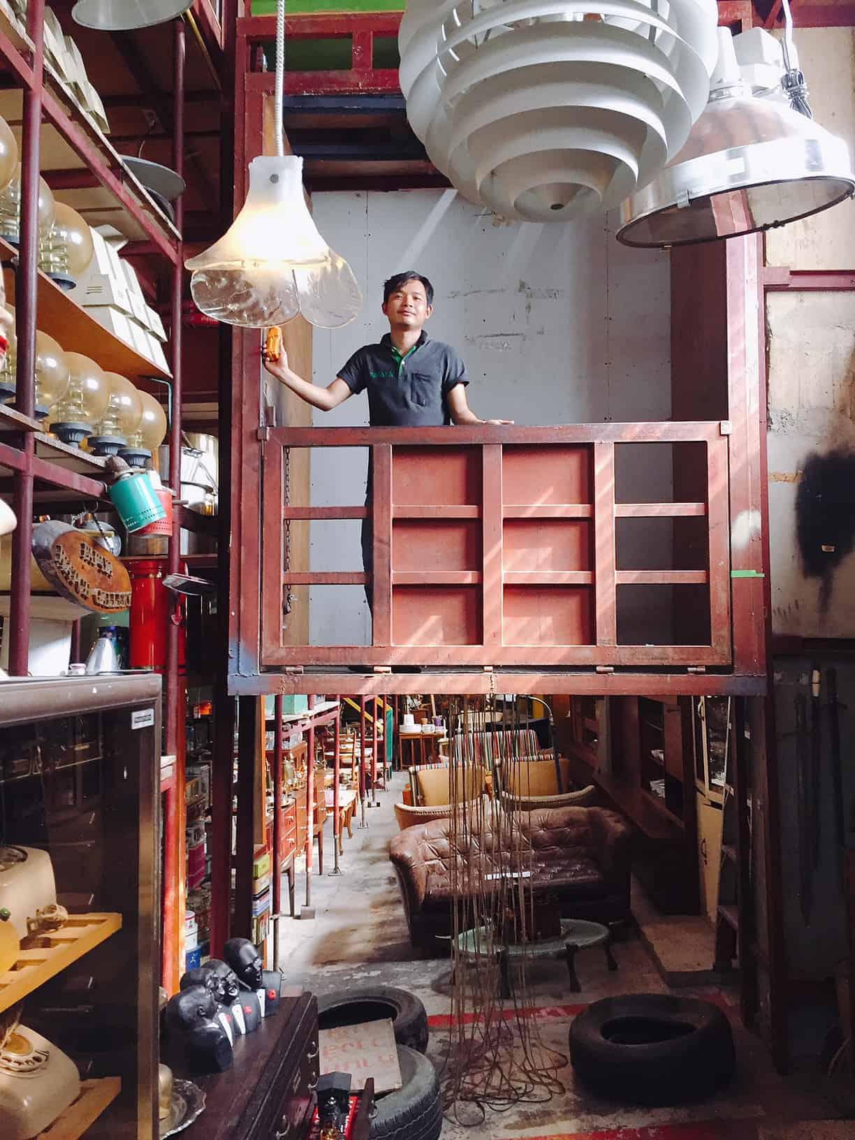 Papaya Vintage Bangkok Hock Siong Co